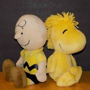 2013-Kohl-039-s-Cares-Charlie-Brown-Woodstock-Plush-Stuffed-Dolls-13-034-Peanuts-Toys
