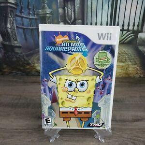 SpongeBob's Atlantis SquarePantis (Nintendo Wii, 2007) Complete