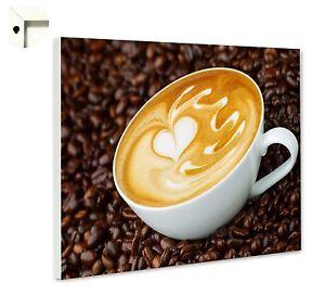 Magnettafel Pinnwand mit Motiv Küche Essen & Trinken Cappuccino ...