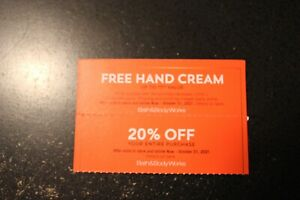 2 Bath and Body Works Coupon
