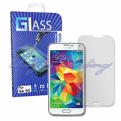 Premium Tempered Glass Screen Protector Film Guard for Samsung Galaxy S5 G900