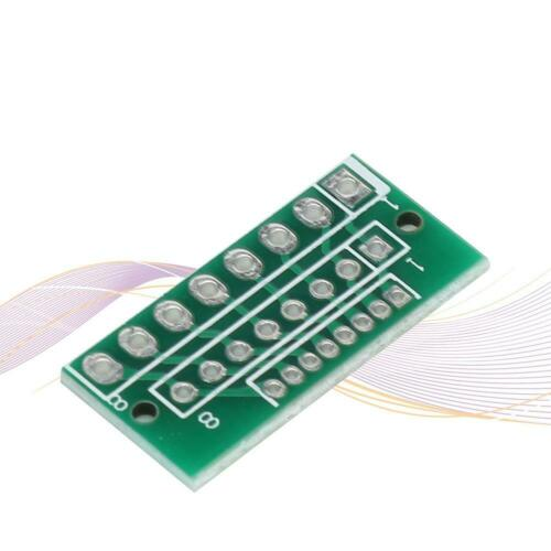 10pcs 1.27mm 2.0mm 2.54mm 8pin Adapter Board Converter Plate For Wireless Module