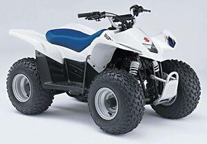 suzuki quadsport ltz50 z50 repair service manual cd only 2004 2005 rh ebay com 2003 Suzuki 250 4 Wheeler 2004 Suzuki 250 Quad