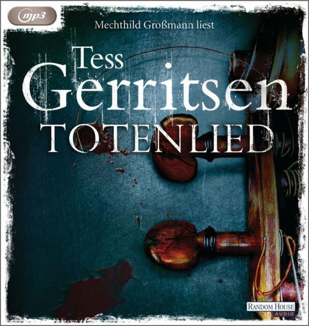 Tess Gerritsen - Totenlied - MP3-CD NEU OVP