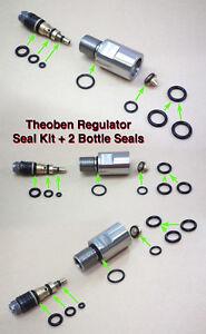 Style De Mode Theoben Regulator Service Kit-joints & Belleville Rondelles.-afficher Le Titre D'origine