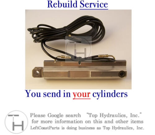 Rebuild Service for your R170 Roof Top Left Main Lift Cylinder Ram Actuator
