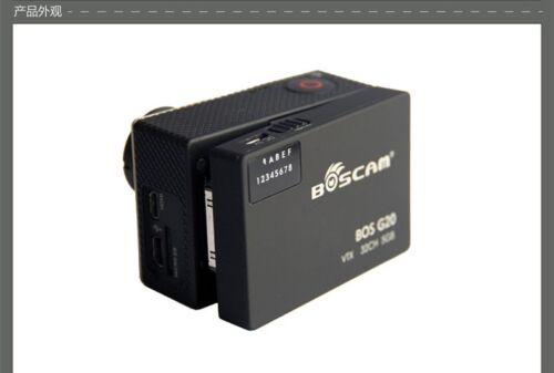 Boscam G20 VTX FPV Wireless AV Transmitter Video TX for Gopro 3 3+ 4 F17946