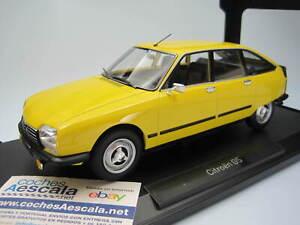 1-18-Norev-Citroen-GS-X3-1979-Mimosa-Yellow-citroen-181624-cochesaescala