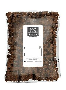 K9 Connoisseur Beef Lung Bites Large 2.5 pound bag Brand New UNOPENED