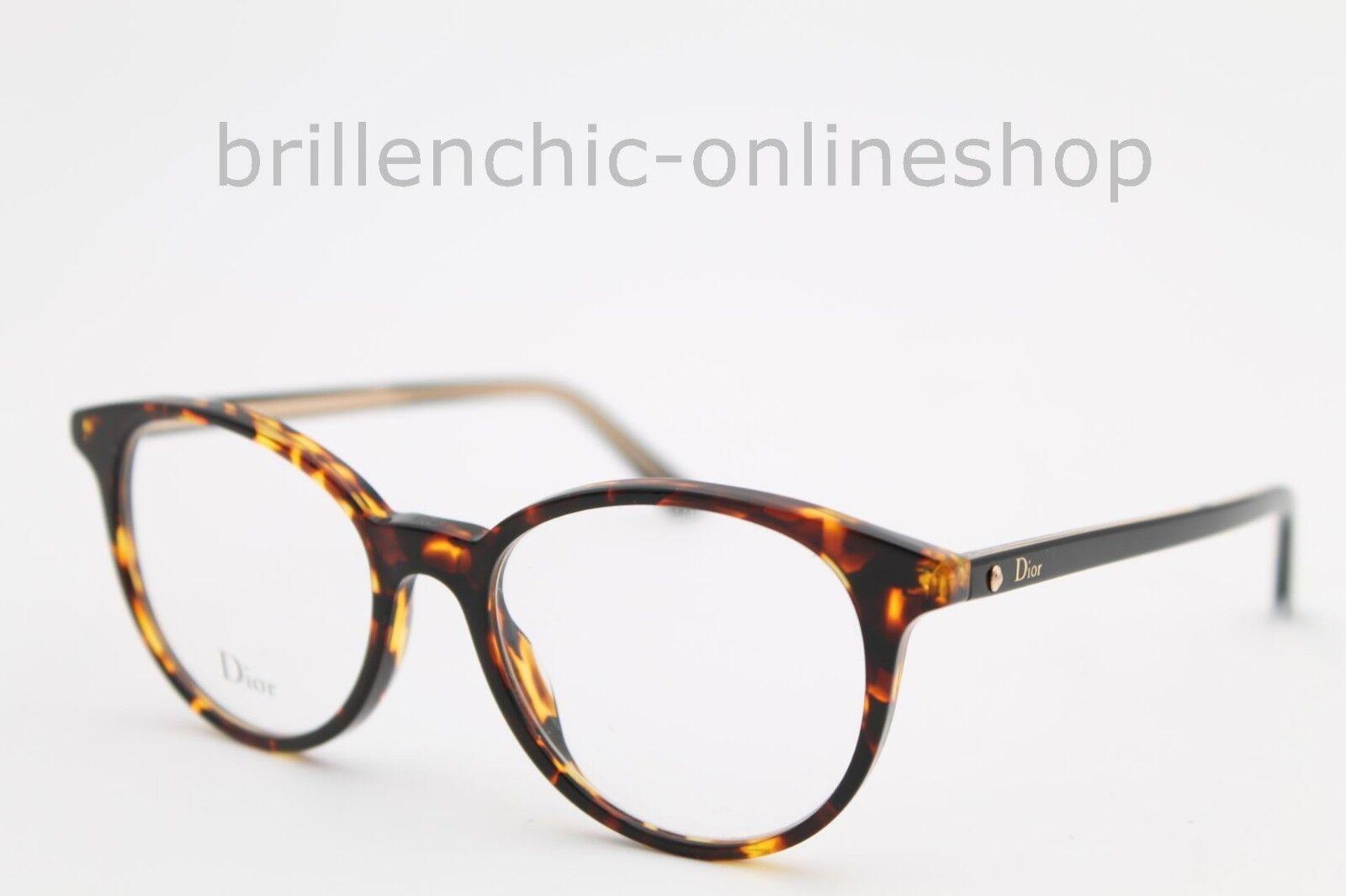 Dior Brille Montaigne 47 col. 086 17 NEU Christian Dior