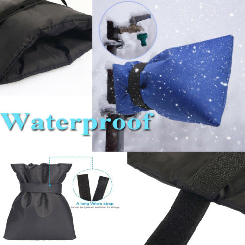 Winter Outside Garden Tap Cover Frost Jacket Insulated Frost  Freeze Protector