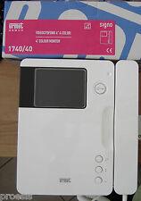 """URMET 1740/40 Signo videocitofono 4"""" monitor colori parete bianco sostit. 1740/1"""