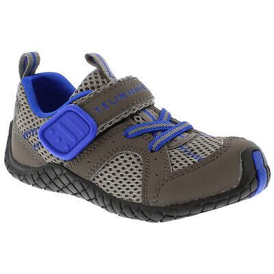 Tsukihoshi MARINA 4512 252 Taupe Royal Hook and Loop Slip On Toddler Youth Shoes