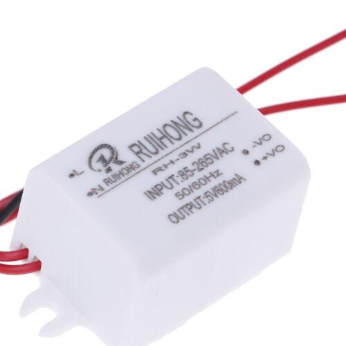 AC-DC Power Supply Module AC 0.3A 3W 220V to DC 5V 12V 24V Mini ConvertRSYEDE
