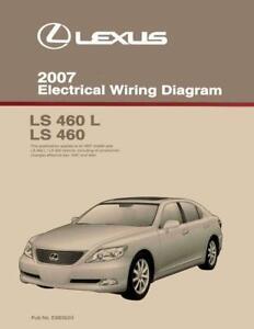 OEM Repair Maintenance Shop Manual Bound Lexus LS 460 LS 460L ...