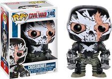 Captain America: Civil War Crossbones Cracked Mask Pop! Vinyl Figure New Excl