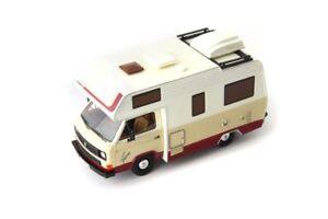 Volkswagen-VW-T3-Karmann-Gipsy-1983-White-1-43-Model-AUTOCULT
