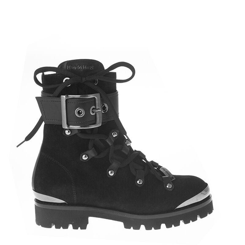 Authentic Nando Muzi Italian Designer Leather Shoes Black Sizes 6,7,8,11
