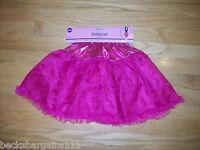 Girls Petticoat Skirt Costume Dress-up Pink One Size