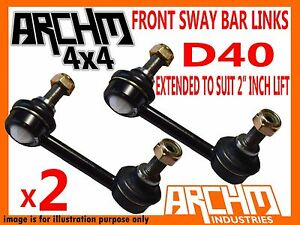 FRONT-EXTENDED-SWAY-BAR-LINKS-TO-SUIT-2-034-INCH-LIFT-FOR-NISSAN-NAVARA-D40
