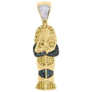 10K-Yellow-Gold-Yellow-Diamond-Egyptian-Pharaoh-King-Tut-Pendant-Charm-0-45-CT