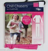 Cuddl Duds Chill Chasers Girls Size Xs 4 5 Warm Layers Legging Shirt