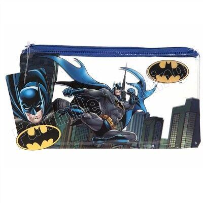 Pencil Case Zip DC Disney Marvel Batman Paw Patrol Star Wars Avengers Skye Chase