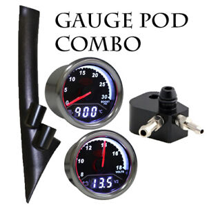 Ford-PX-Ranger-SAAS-Pillar-pod-Boost-Temp-amp-EGT-PYRO-amp-Turbosmart-Adaptor-PACK