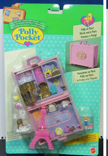 Mini Polly Pocket Polly en parís-Vacation Fun New unopend 1996 nuevo embalaje original