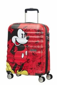Image is loading Spinner-20-034-AMERICAN-TOURISTER-Wavebreaker-Disney-Mickey - d740c1f760225