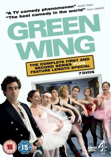 1 of 1 - GREEN WING COMPLETE SERIES 1 - 2 DVD BOX SET + SPECIALS+ EXTRAS NEW UK GreenWing