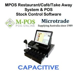15-034-POS-CAPACITIVE-Terminal-Restaurant-Cafe-Take-Away-inc-Software-amp-Wifi