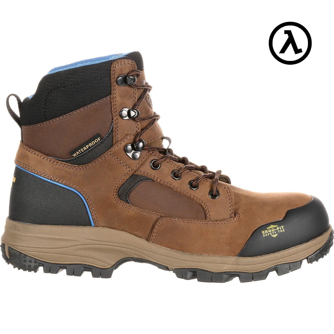 GEORGIA azul Collar Impermeable botas De Trabajo excursionista GB00107  todos Los Tamaños-Nuevo
