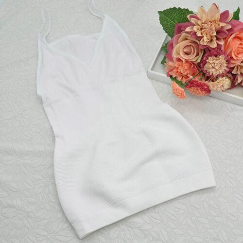 Women/'s  Seamless Cami Waist Tummy Control Slimming Tank Top Cami Vest Shapewear