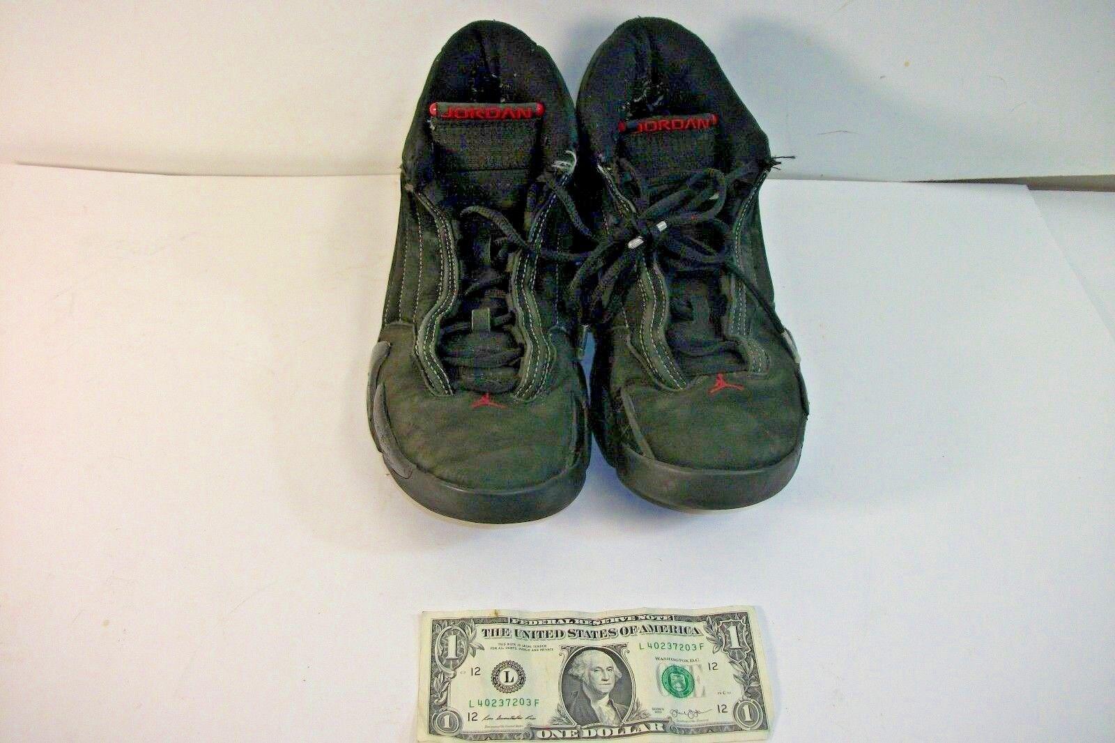 Nike Jordan Black & Red Sneakers Size 9.5 1985-2018  XXIII