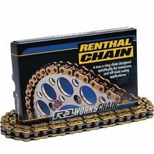 Renthal R1 Works 520 X 120 Gold Offroad MX Motocross Motorcycle Chain