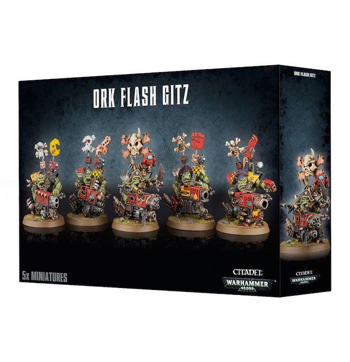 Warhammer  Ork Flash Gitz - GW-50-24