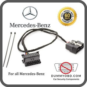 Details about Mercedes-Benz ALL MODELS DUMMY FAKE OBD2 PORT POWERED anti  theft   SPRINTER VITO
