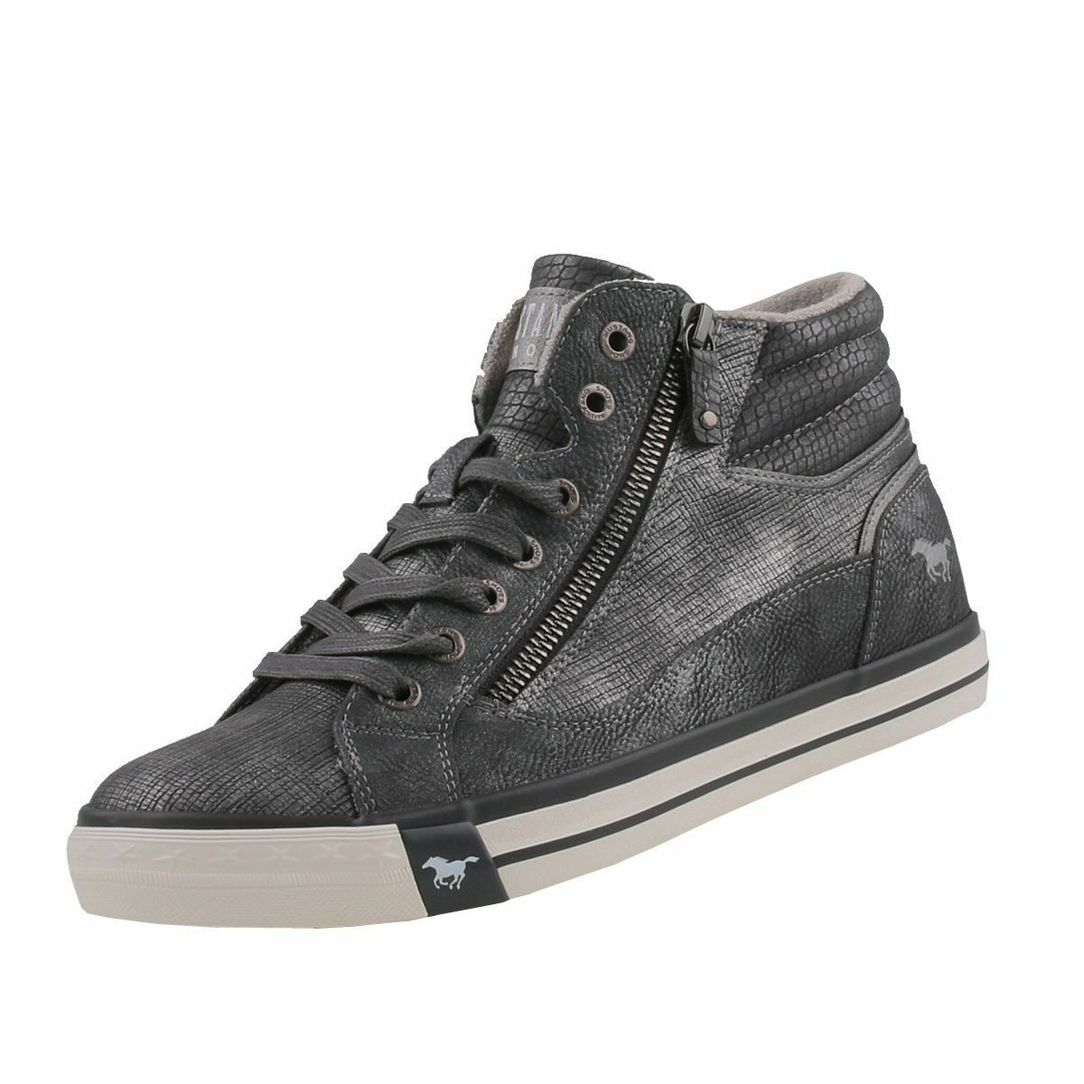 Neuf MUSTANG Chaussures Femmes Chaussures High Top baskets bottes Bottines Chaussure Lacée
