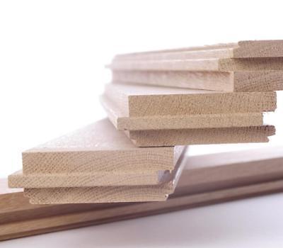 Hart Arbeitend Massivparkett Stabparkett 22mm Stark Buche Natur - Direkt Vom Hersteller