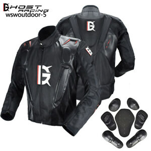 Motorcycle-Jacket-Armored-Motorbike-Road-Waterproof-Jacket-Protective-Pads-Mens
