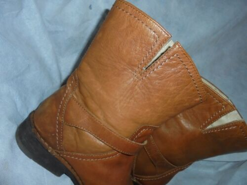Boot Ankle Leather Buckle 37 Size On Vgc Pull Uk Eu donna Borden Tan 4 n6YqwHq0