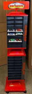 Vintage-Majorette-200-300-Ser-Rotating-Store-Shop-Display-Rack-Red-Black-56-5-034