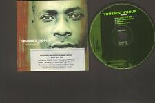 Youssou n'Dour JOKO 4 tr CDSingle PROMO Don't Look Back BIRIMA This Dream STING