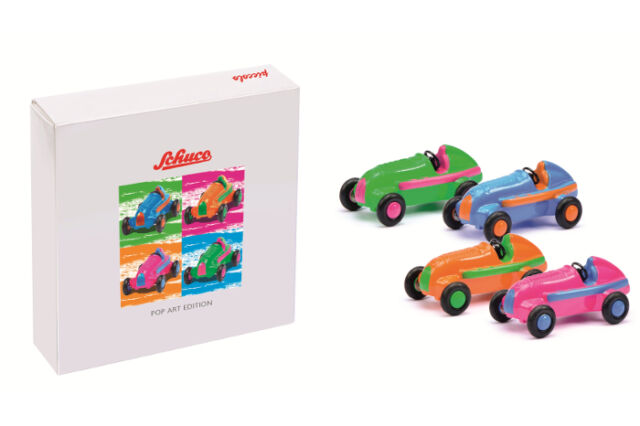 Schuco Piccolo Pop Art jeu MB Studio I coloré 01179