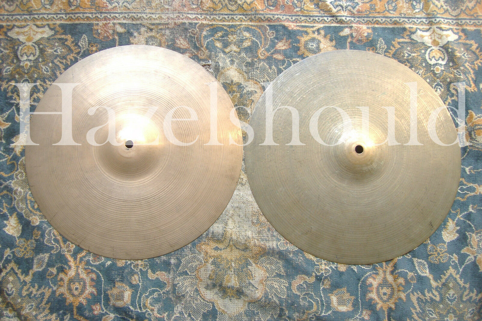 SOUNDFILE  GREAT WEIGHTS ZILDJIAN Vintage 1960s 14