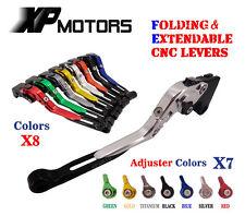 Adjustable Folding Extendable Brake Clutch Levers For Yamaha MT-09/SR/FZ-09 2014