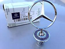 Mercedes benz oem standing star hood mount emblem ornament for Mercedes benz hood ornament