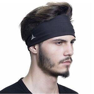 Men Headband Male Sweat /& Sports Headbands Moisture Wicking for Yoga Running T27
