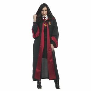Adult Womens Hermione Granger Harry Potter Gryffindor Costume Robe